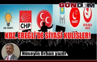 KDZ. EREĞLİ'DE SİYASİ KULİSLER!