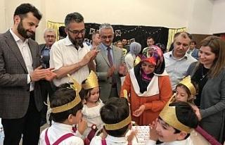 Minik öğrenciler Kur'an okumayı öğrendi