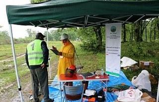 Orman işçisi mesleki yeterlilik belgelendirme sınavları...