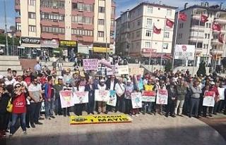 Sendikalar 1 Mayısı Safranbolu'da kutladı