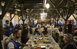 Türk ve Mülteci anneler ve çocukları Karabük'te...