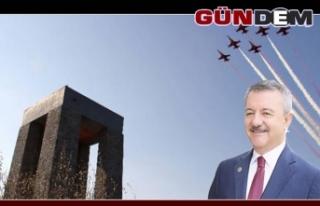Türkmen Hava Şehitlerini andı