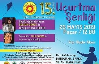 Uçurtma Şenliğinin 15'inci 26 Mayıs Pazar Günü...