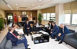 Vali Gürel başkanlığında değerlendirme toplantısı...