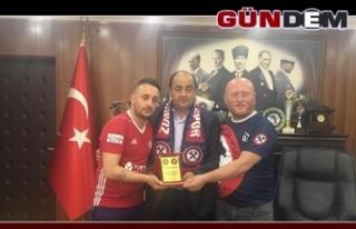 Zonguldakspor Taraftarları'ndan Demirtaş'a destek