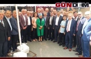 Ak Parti heyetinden Kozlu'da bayramlaşma