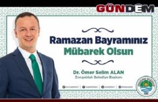 Başkan Alan, Ramazan Bayramı'nı kutladı