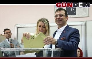 İstanbul'da seçimin galibi Ekrem İmamoğlu...