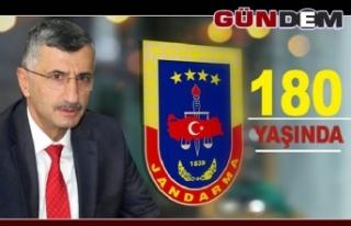 Vali Bektaş, Jandarmanın 180. yılını kutladı