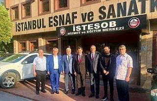Yıldırım'a destek için teşkilatlar İstanbul'da...