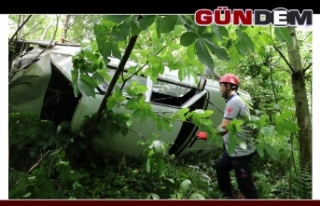 Zonguldak yolunda kaza; 1 ölü 5 yaralı