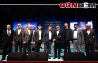 Zonguldaklılar 7 Bölge 7 Renk Festivali'nde coştu