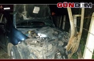 Zonguldak'ta Kaza: 1 yaralı