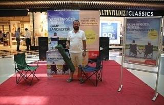 67 Burda AVM'den 350 TL Alışverişe Kamp Sandalyesi...