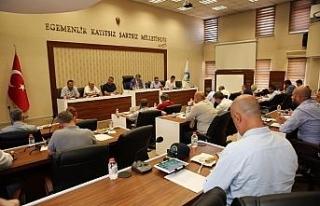Bartın Belediye Meclisinde 10 madde görüşüldü