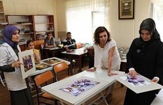 Başkan Köse, kurs ziyaretlerine devam ediyor