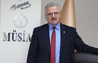 """Başkan Nur, """"MÜSİAD'ın yeri devletinin ve..."""