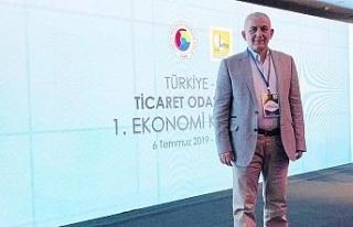 DTSO Başkanı Şahin, ekonomi konferansına katıldı