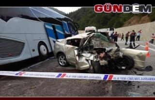 Feci Kaza'da 1 Uzman Çavuş öldü, 8 yaralı...