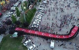 Karabük'te 15 Temmuz Demokrasi ve Milli Birlik...