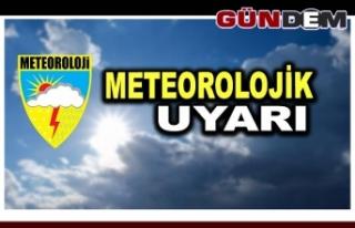 Meteoroloji'den birçok il için kuvvetli yağış...