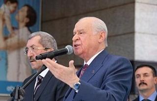 """MHP lideri Bahçeli: """"AB'yle bir yol ayrımına..."""