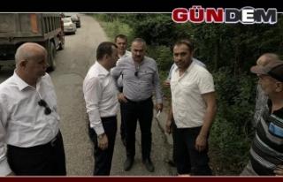 Milletvekili Çolakoğlu, çalışmaları inceledi