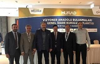 MÜSİAD Karadeniz Ereğli Yönetimi GİK toplantısına...