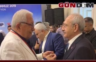 Posbıyık, Kılıçdaroğlu ile görüştü