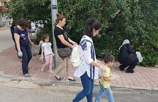 Tarihi Osmanlı Kenti Safranbolu'da miniklerin temiz...