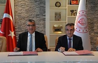 TTK protokolü imzaladı