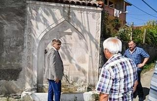 Vali Gürel, Osmanlı Döneminden kalma çeşmeleri...