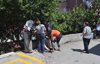 Baba-oğlu bıçaklayan zanlı tutuklandı!..