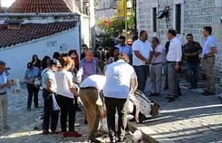 Bayram öncesi çocuklar ve vatandaşlar Osmanlı...
