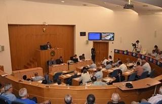 Düzce Belediyesi Ağustos ayı ilk meclis toplantısı...