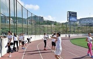 Düzce Üniversitesi'ni 33 Milli Sporcu tercih etti