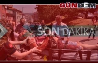 İlçe başkanının kardeşi ve oğlu bıçaklandı