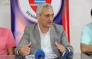 """Mehmet Yüksel: """"Karabükspor'un başkanıyım..."""