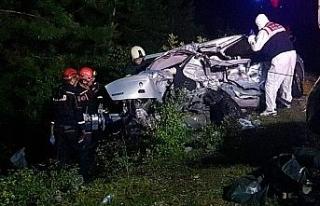 Trafik kazasında yaralanan şahıs 10 günlük yaşam...