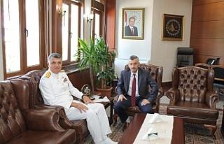 Yazıcıoğlu'ndan Vali Bektaş'a veda ziyareti