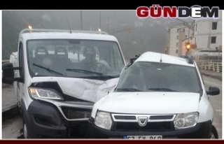 Zonguldak istikametinde kaza; 1 yaralı
