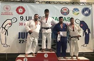 Zonguldaklı judocular 5 madalya ile döndü
