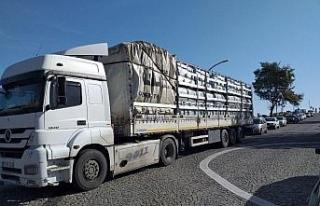 Akçakoca'da bakanlıktan 250 adet çöp konteyneri