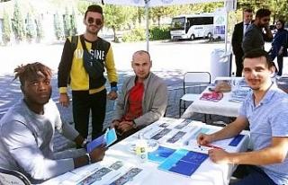 Bartın Üniversitesi'nin yeni öğrencileri kurulan...