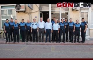 Başkan Bozkurt, Zabıtalar Haftasını kutladı