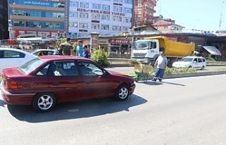 Çevre yolunda kaza!
