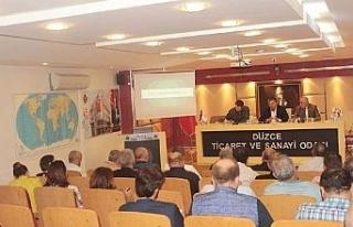Düzce TSO Meclis toplantısı yapıldı
