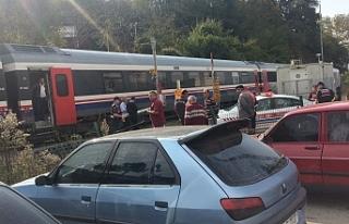 Feci kaza… Yaşlı kadını tren ezdİ!..