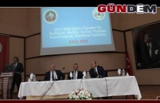 Koordinasyon Toplantısı Vali Bektaş başkanlığında...