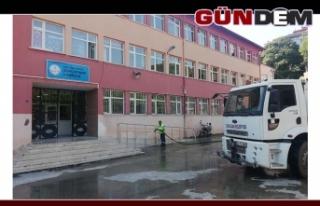 Okul çevrelerinde temizlik seferberliği!..